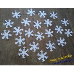Papierowe płatki śniegu,...