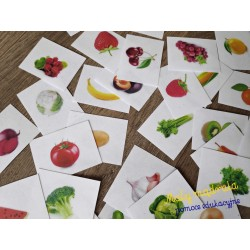Owoce i warzywa - Układanka...