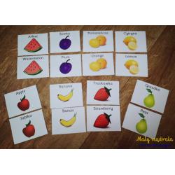 Owoce i warzywa - plansze w...