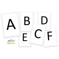 Alfabet i cyferki - A4